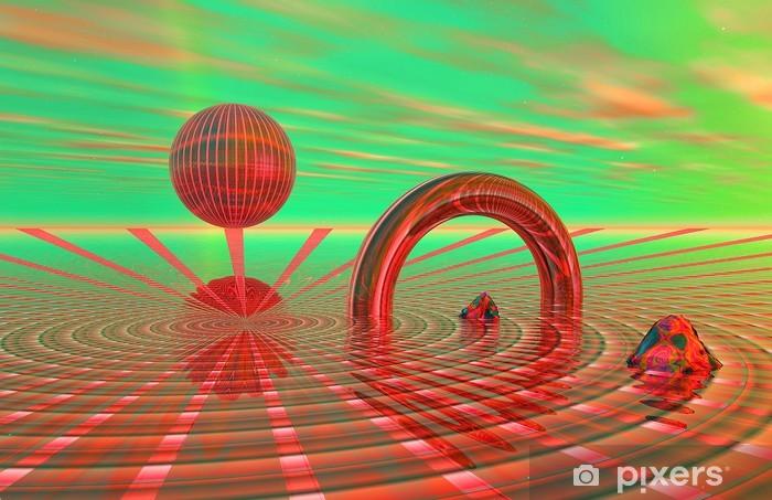 Papier peint vinyle 3D - EGN - Science-fiction 102 - Abstrait