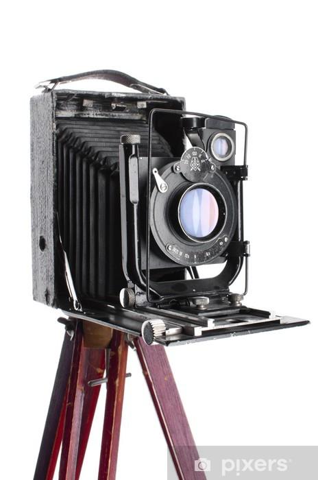 Lack-bord finér Gammelt medium format fotokamera 1930 - Kunst- og Håndverk