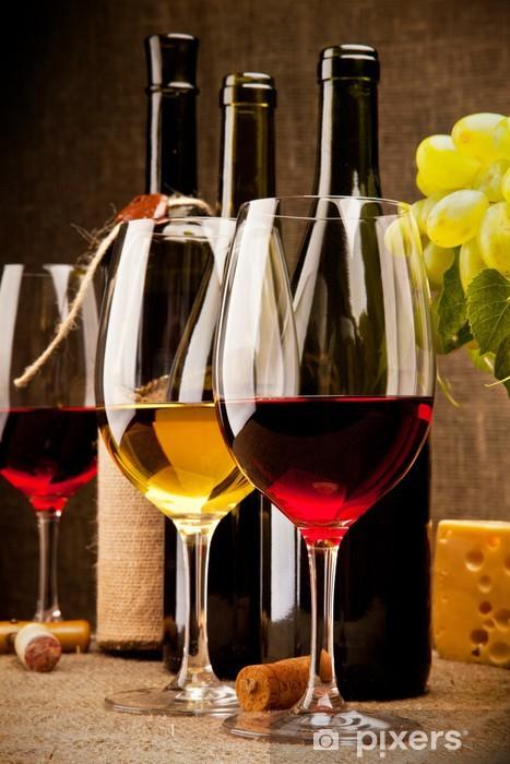 Naklejka Pixerstick Skład wina - Tematy