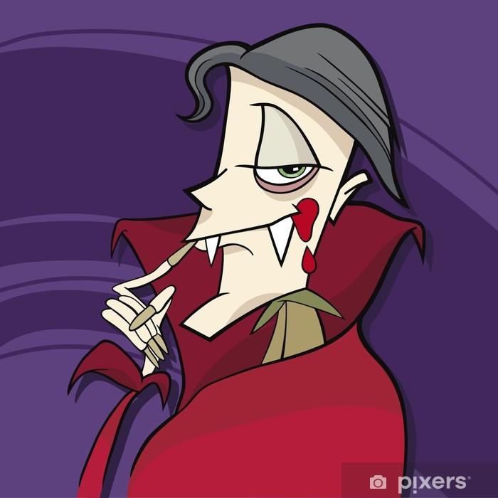 Carta da parati cartone animato vampiro u pixers viviamo per il