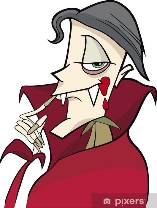 Fototapeta winylowa Vampire Cartoon - Święta międzynarodowe