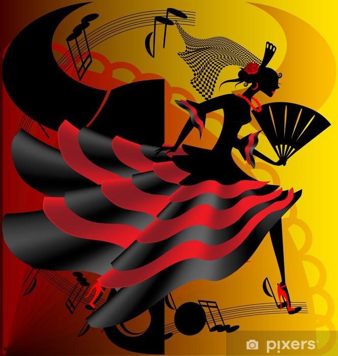 Fototapeta winylowa Hiszpański taniec - Tematy