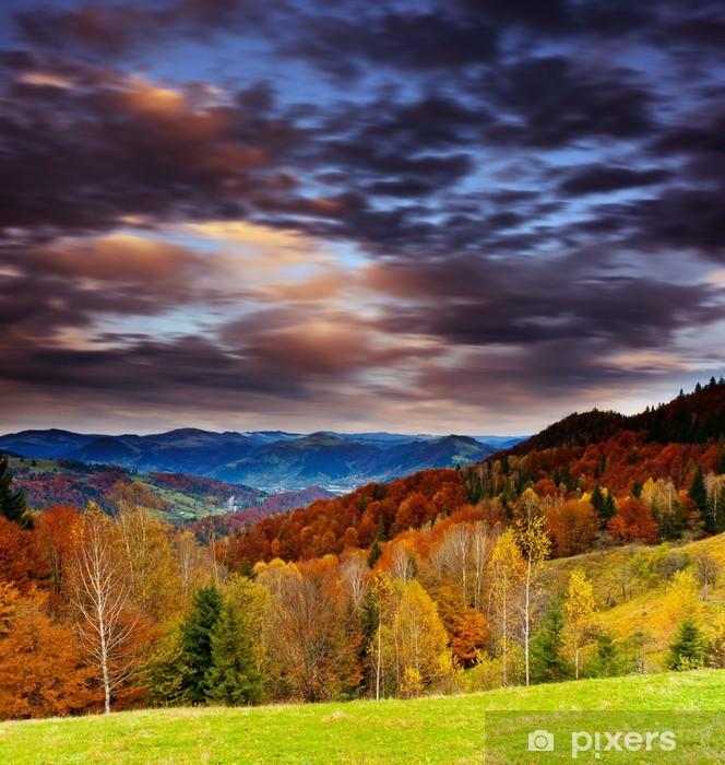 Fototapeta winylowa Górski krajobraz - Niebo