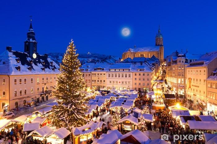 Papier peint vinyle Weihnachten im Erzgebirge, Weihnachtsmarkt Annaberg-Buchholz - Thèmes