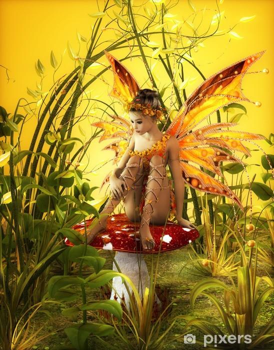 Naklejka Pixerstick Magiczna Jesień -