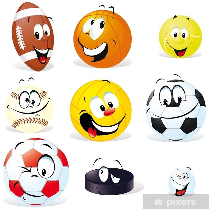 Lack-bord finér Sportsball tegneserie - Lagidrett