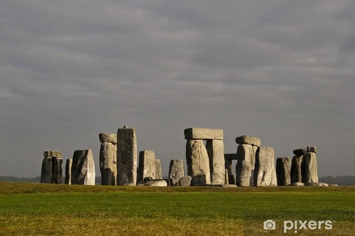 Sticker Pixerstick Stonehenge, en Angleterre, Royaume-Uni - Monuments