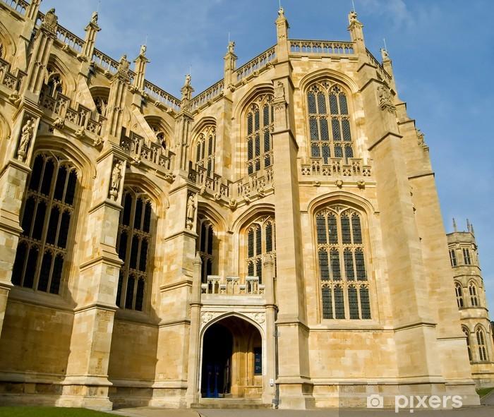 Nálepka Pixerstick Královská kaple svatého Jiří, Windsor, Anglie. - Evropa