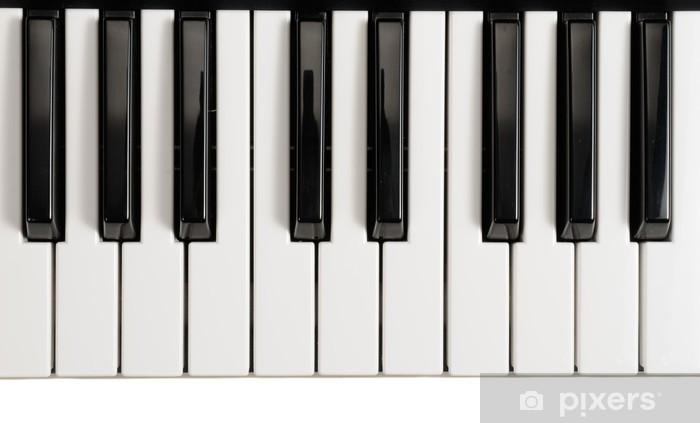 Sticker pour table Lack Piano keys - Musique