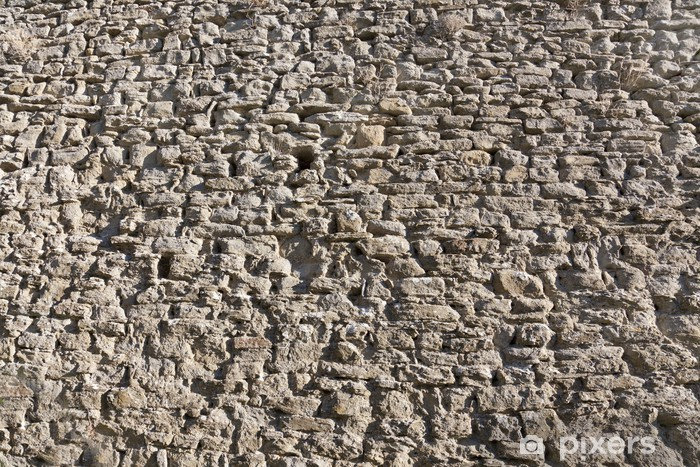 Naklejka Pixerstick Seria Tekstury: mur - Tła