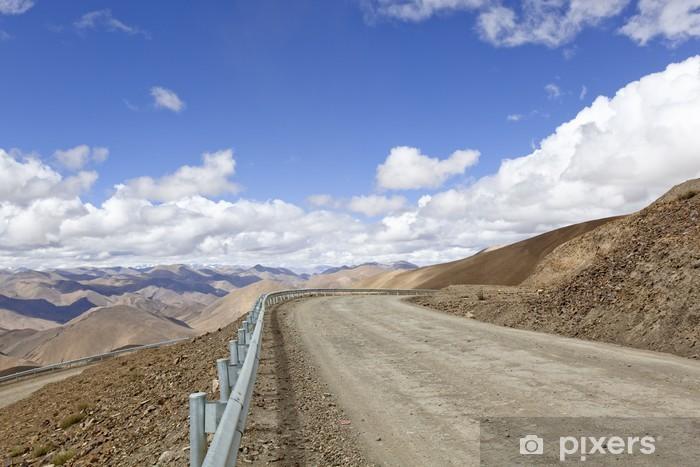Papier peint vinyle Tibet: la route dans l'himalaya - Thèmes