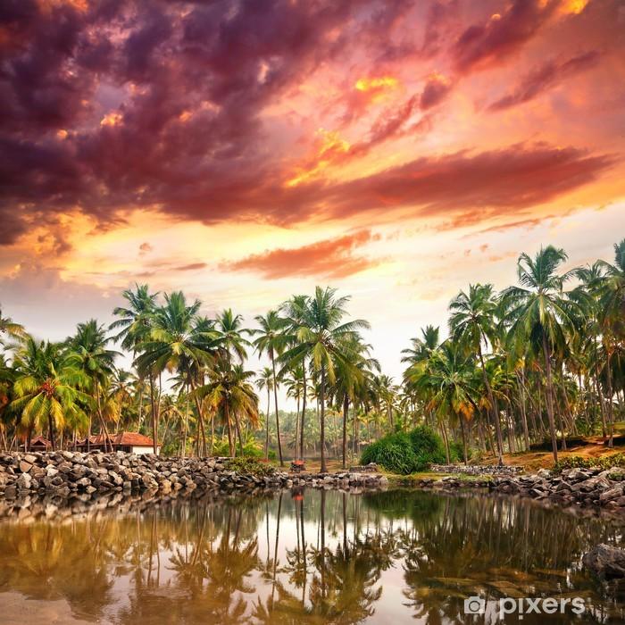 Naklejka Pixerstick Tropikalny - Azja