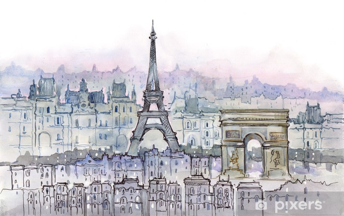 Fotomural Estándar París - Estilos