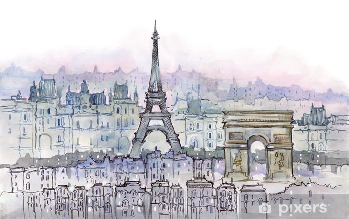 Sticker Pixerstick Parisiens - Styles
