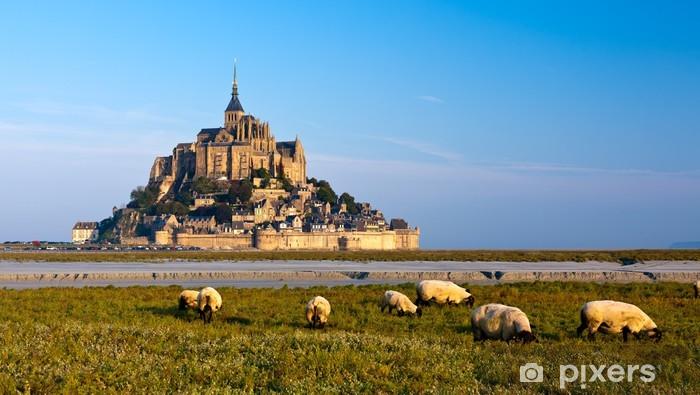 Vinyl Fotobehang Le Mont Saint Michel, Frankrijk - Thema's