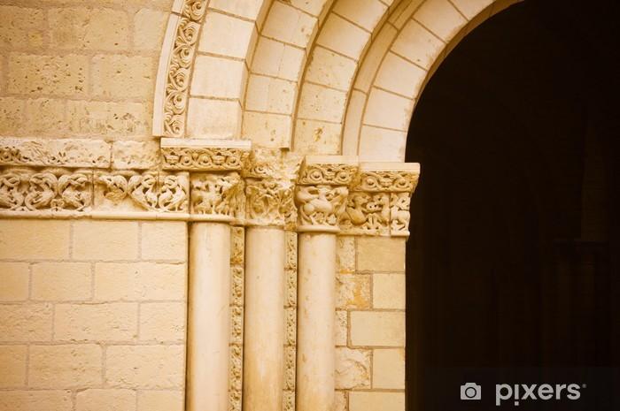 Papier peint vinyle Abbaye royale de Fontevraud - Bâtiments publics