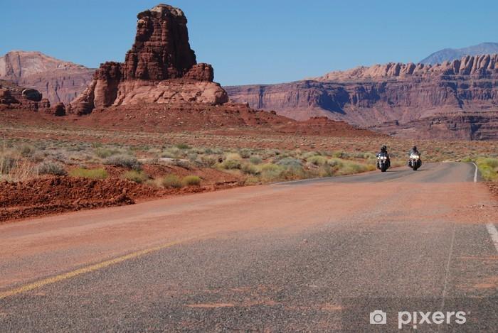 Pixerstick Sticker Woestijn rijden - Thema's
