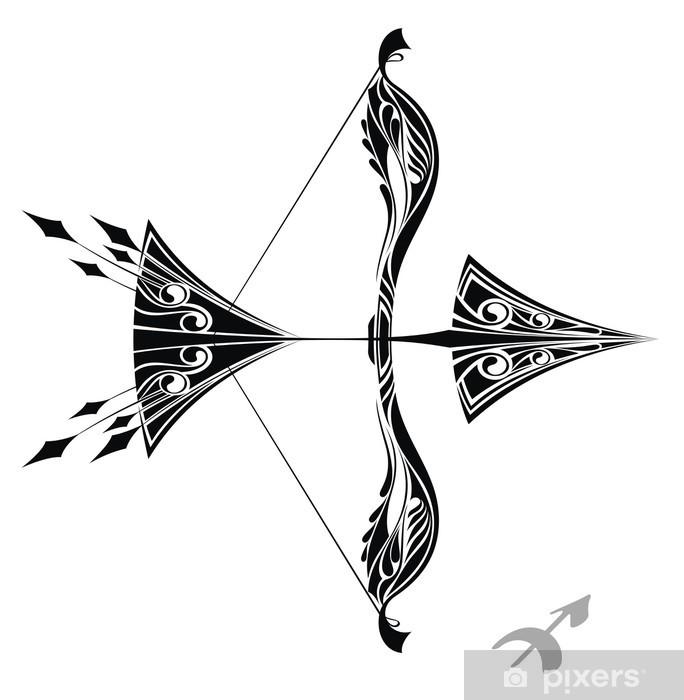 Fototapeta Winylowa Znak Zodiaku Strzelec