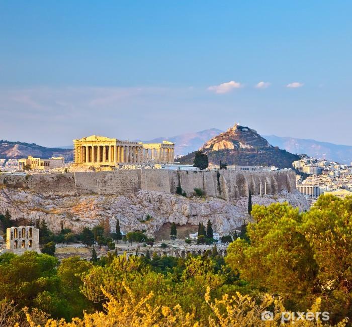 Fotomural Estándar Ver en el Acrópolis de Atenas - Temas