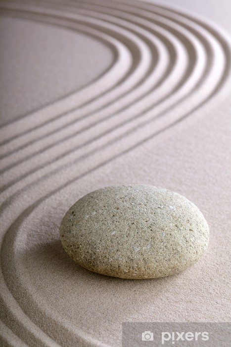 Naklejka Pixerstick Ogród zen - Tematy