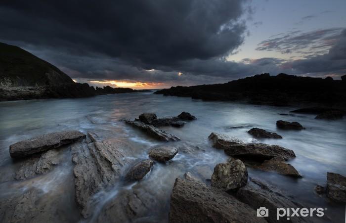 Vinylová fototapeta Playa de Tagle (Cantabria) - Vinylová fototapeta