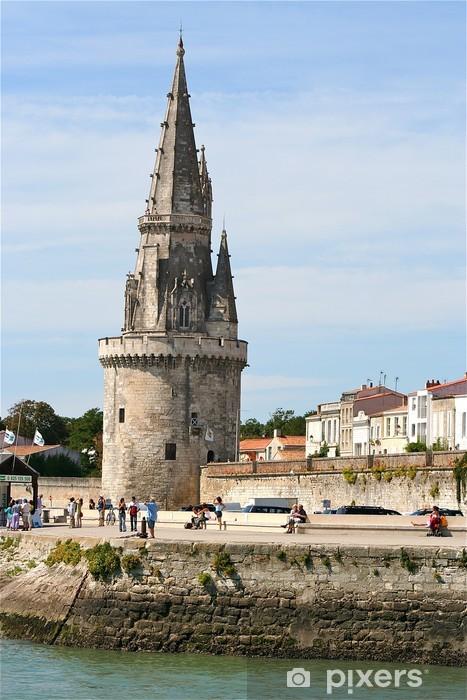Papier peint vinyle Tour la Rochelle - Vacances