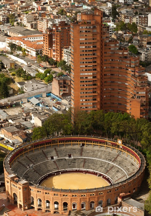 Vinilo Pixerstick Bogotá - Monumentos