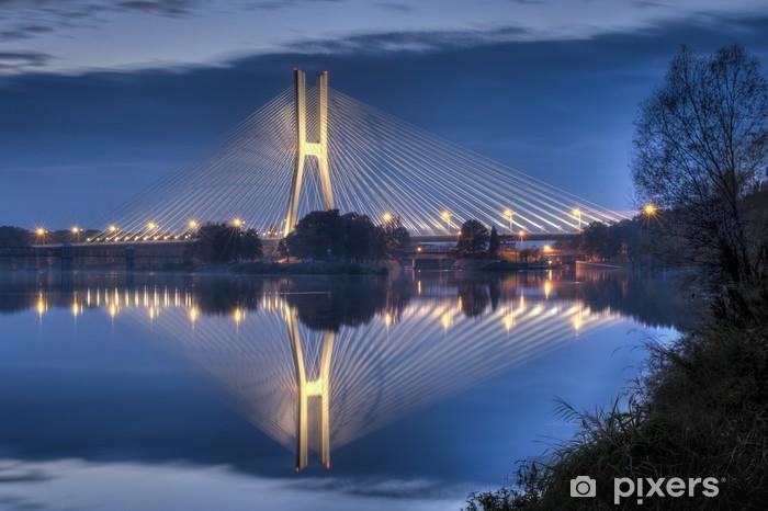 Papier peint vinyle Pont Rędziński Wroclaw - Thèmes