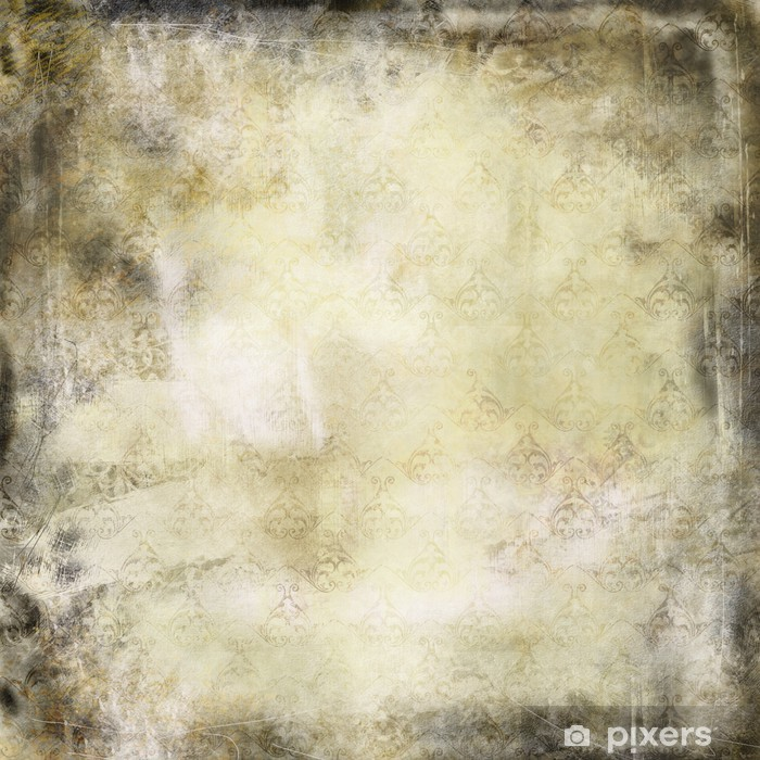 Retro vintage texture with grunge effects Wall Mural - Vinyl