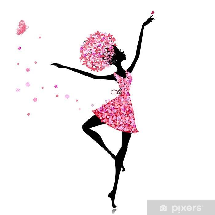 Poster Flower girl ballerine - Sports individuels