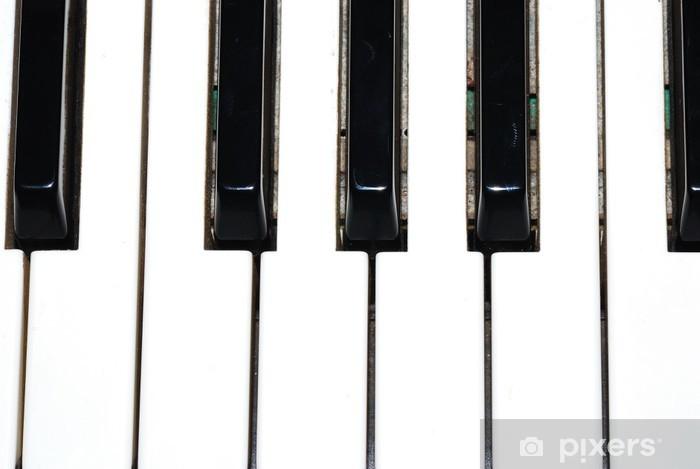 Papier peint vinyle Klavier actuellement tasten - Musique