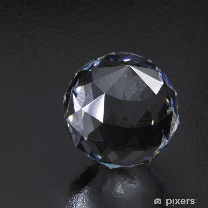 Nálepka Pixerstick Tmavé diamantové koule - Móda