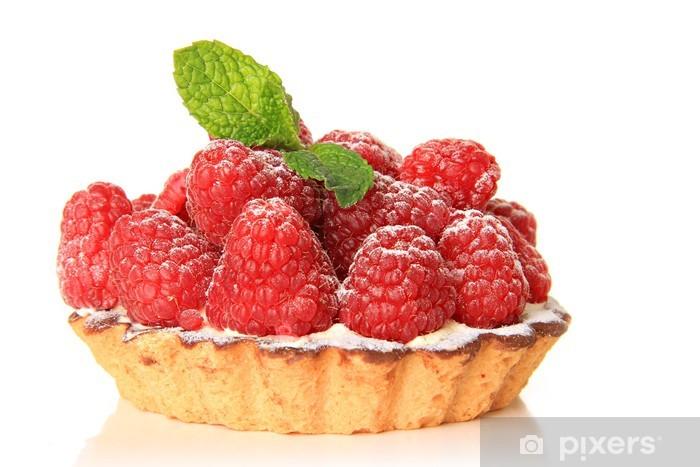 Vadelmahedelmä Pixerstick tarra - Raspberries