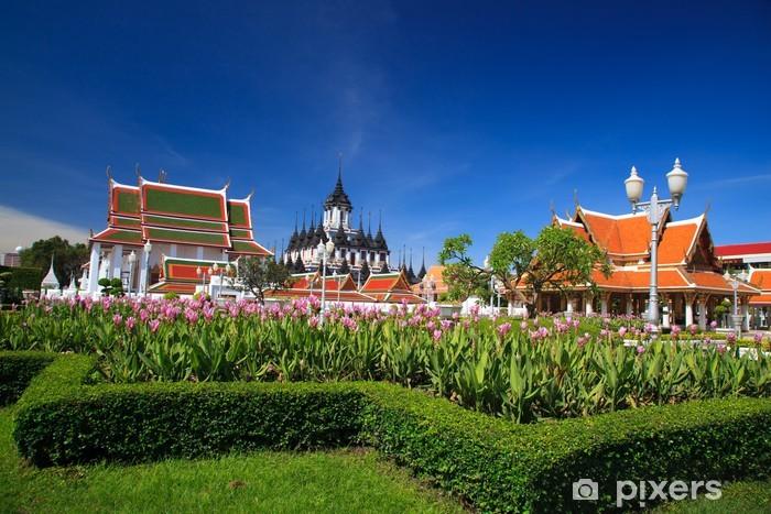 Nálepka Pixerstick Buddhistický chrám v Thajsku - Asie