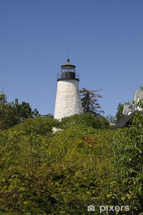 Vinyl-Fototapete Dyce Head Lighthouse, Castine, Maine, USA - Amerika