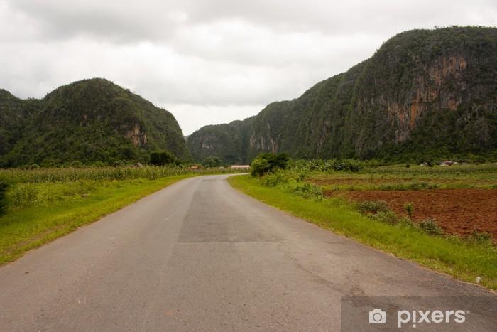Naklejka Pixerstick Mogote Dolina Vinales - Kuba - Tematy
