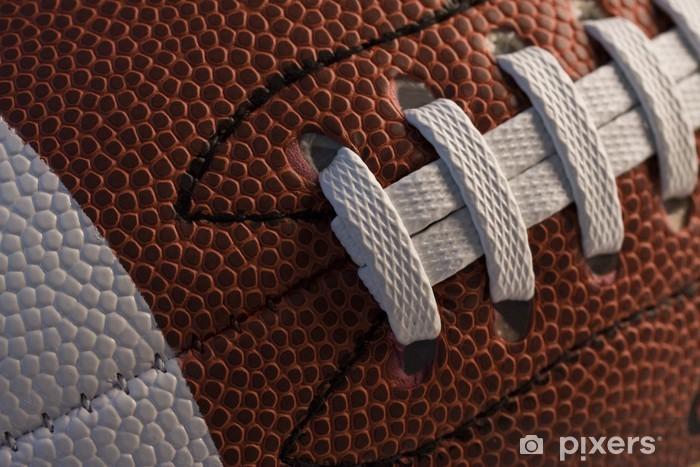 Pixerstick Sticker Close-up van American football - American Football