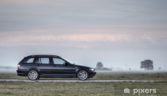 Vinil Duvar Resmi BMW E46 330d Touring M-Paket -