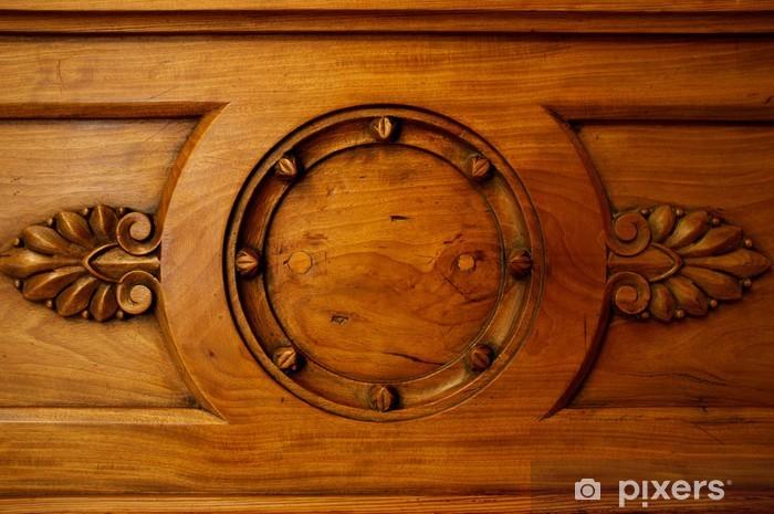 Vinilo Pixerstick Decoración de madera vieja. - Otros