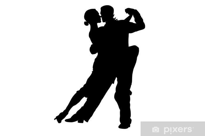 Papier peint vinyle Danseurs de tango - Sports individuels