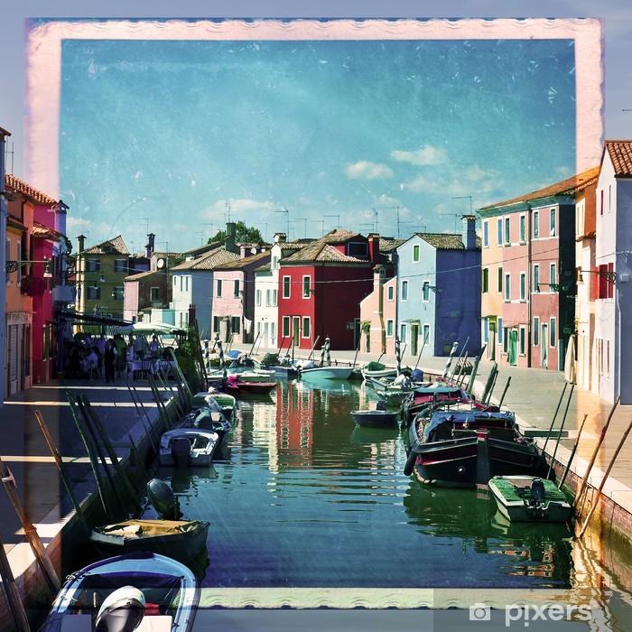 Papier peint vinyle Burano (Venise) - Villes européennes