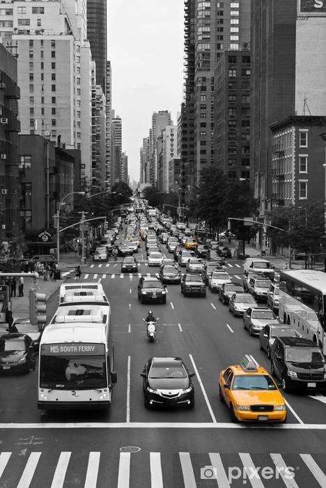 Fototapeta winylowa New york ruchu - Tematy