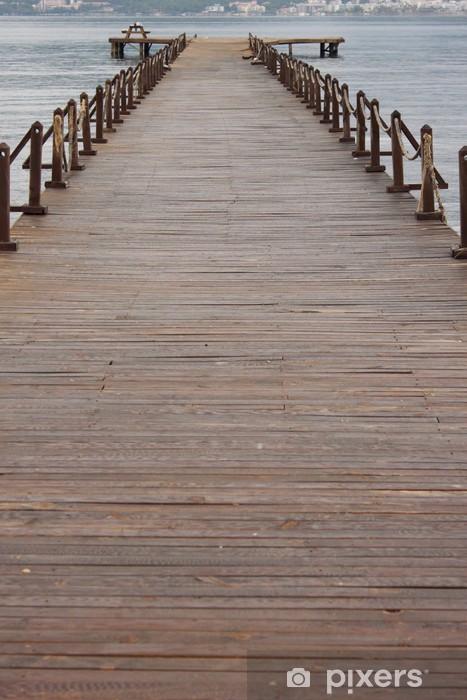 Fotomural Estándar Embarcadero madera - Temas