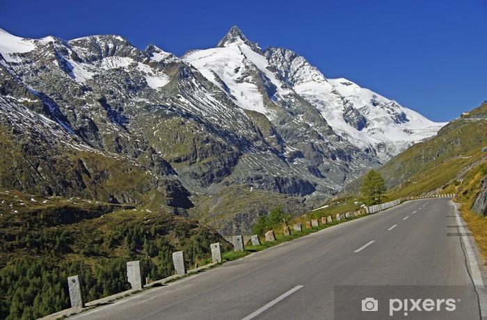 Sticker Pixerstick Le monde célèbre Grossglockner haute route alpine - Europe