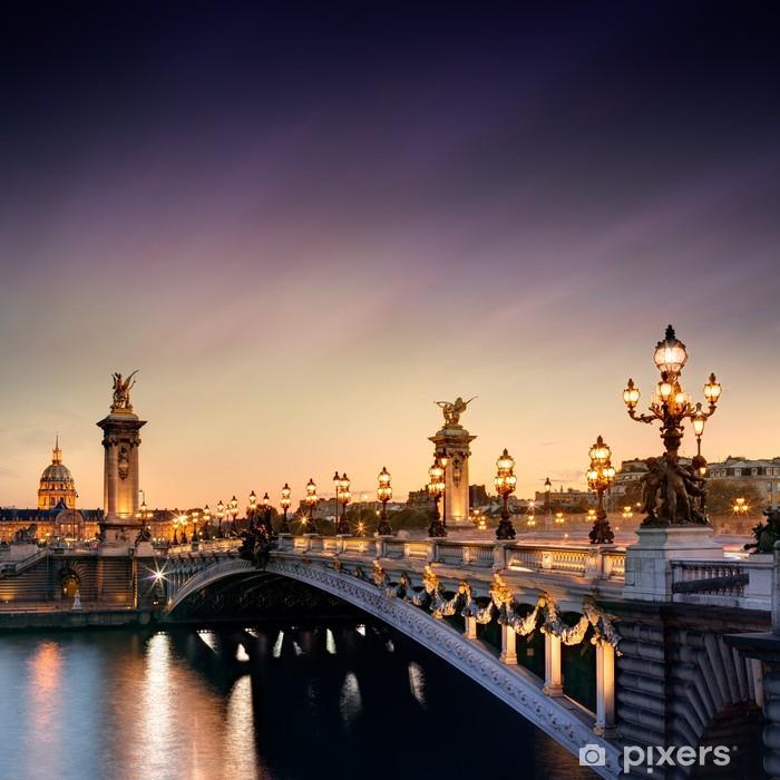 Sticker pour armoire Pont Alexandre III à Paris -