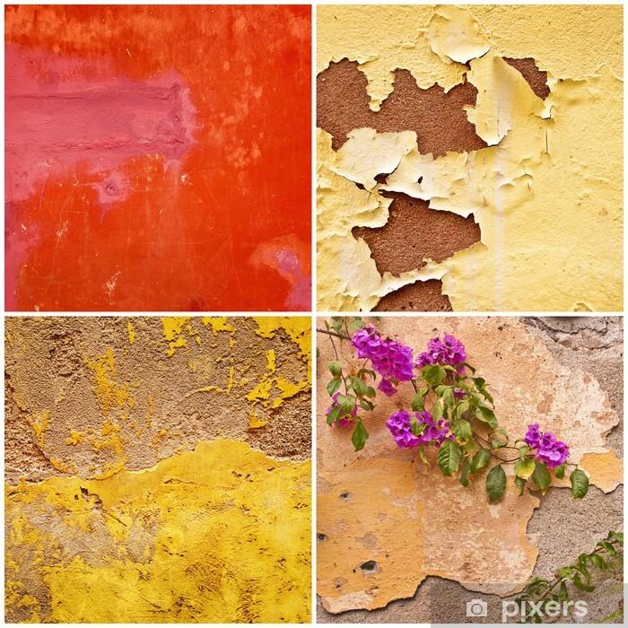 Papier peint vinyle Collage murs de Sicile - Europe