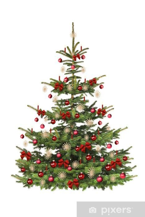 Naklejka Pixerstick Świątecznie choinka, - Święta
