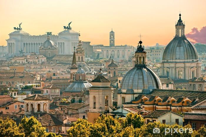 Vinyl Fotobehang Rome, Italië. - Thema's