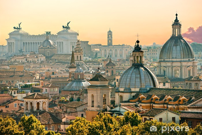 Pixerstick Klistermärken Rom Italien - Teman
