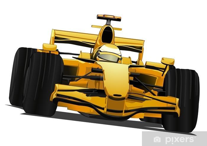 Fototapeta samoprzylepna Formuła jeden samochód wyścigowy - Naklejki na ścianę